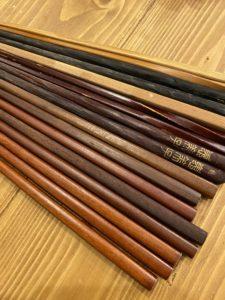 木製のお箸の画像